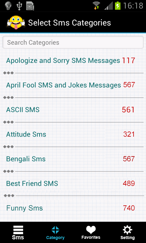 SMS Collection Messages 50000+ - screenshot