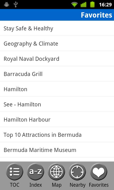 Bermuda Travel Guide- screenshot