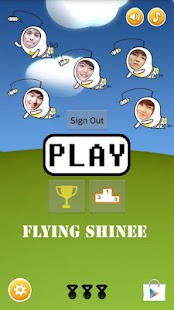 Flying Shinee