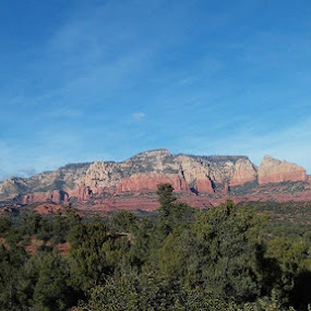 one more of Sedona today. by Chuck Cross - Landscapes Mountains & Hills ( best female portraiture )