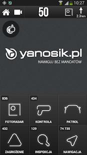 Yanosik - nawigacja antyradar - screenshot thumbnail