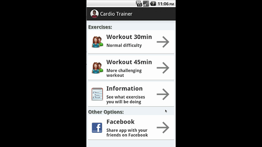 Cardio Trainer - Perfect Body