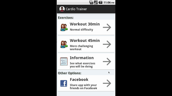 Cardio Trainer - Perfect Body
