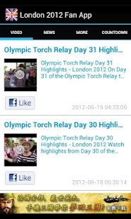 London 2012 News & Videos - screenshot thumbnail