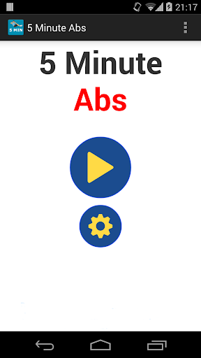 5 Minute ABS Workout routines
