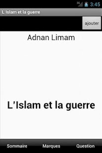 L'Islam et la guerre- screenshot thumbnail