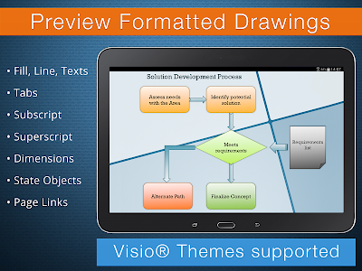 VSD Viewer for Visio Drawings v3.1