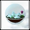 Nanoworld 3D icon