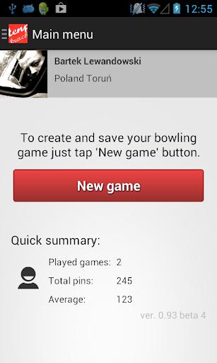 Tenpin Bowling Tracker Lite
