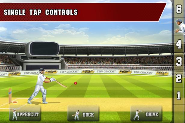 Tap Cricket 2013 screenshot