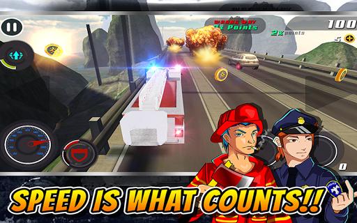Smash Cop 3D Bandit Heat Chase