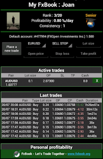 FxBook Let's Trade Together- screenshot thumbnail