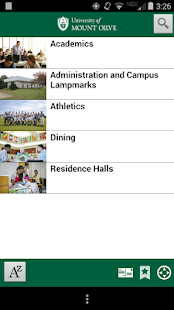 University of Mount Olive Tour- screenshot thumbnail