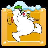 Frosty Snowman Christmas Run