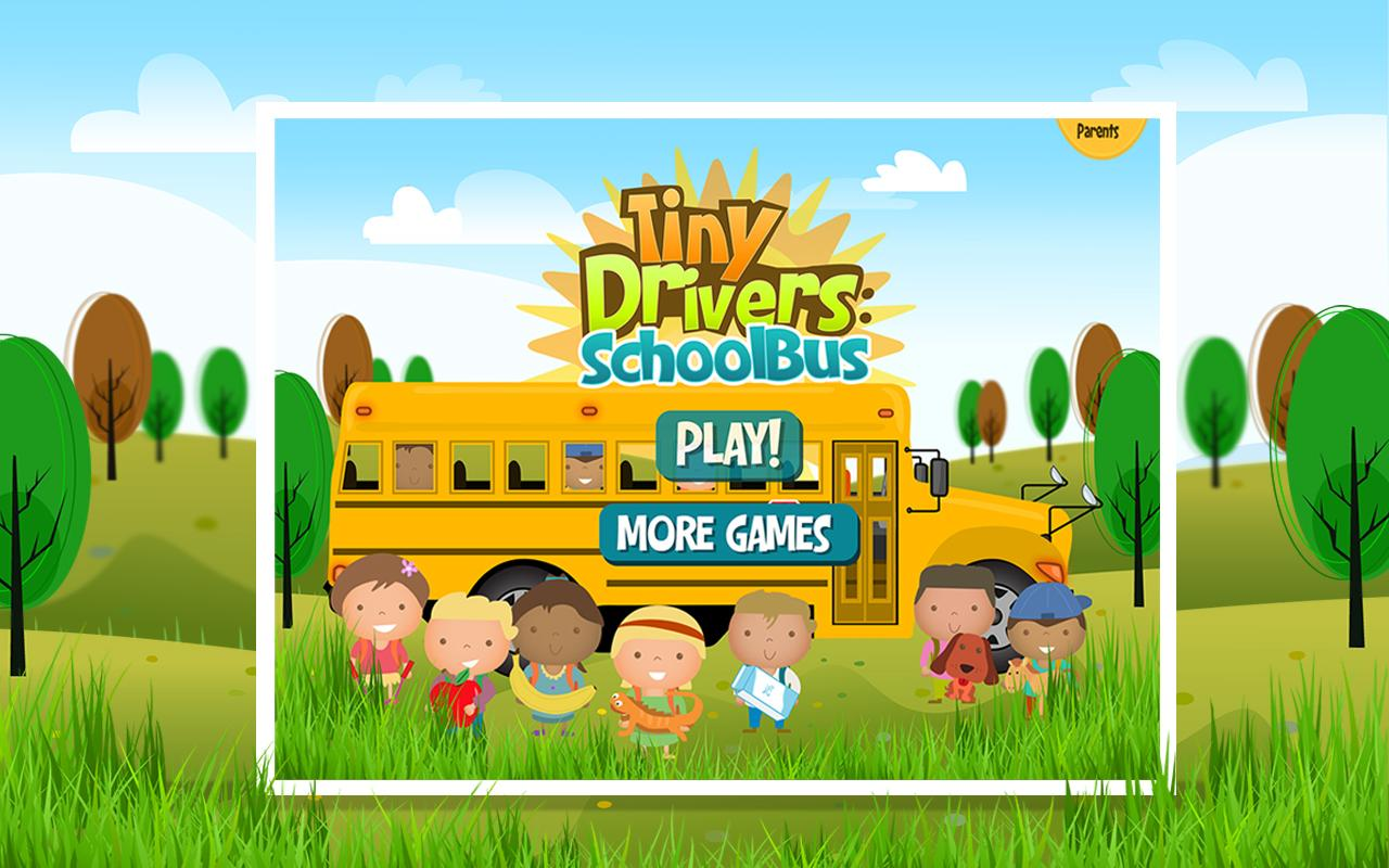 Tiny Drivers: Schoolbus- screenshot