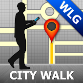 Wellington Map and Walks