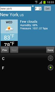 การพยากรณ์อากาศ - screenshot thumbnail