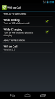 Screenshot of Wifi on Call