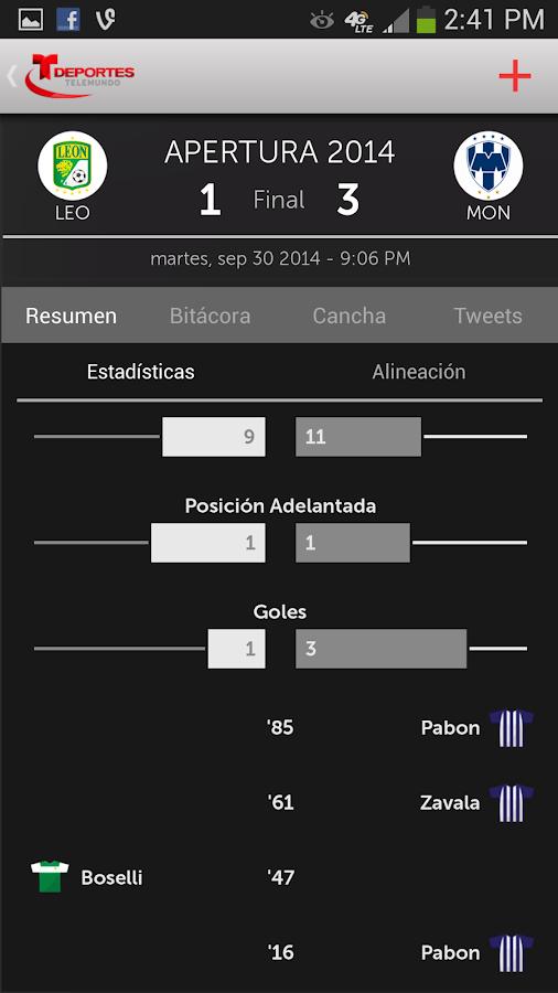 Deportes Telemundo - screenshot