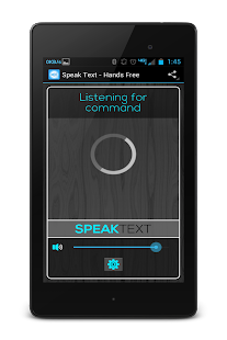 Speak Drive Text Lite - screenshot thumbnail