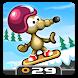 Rat On A Snowboard