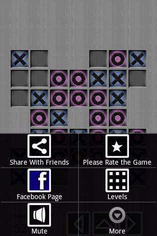 Tic Tac Toe TITANIUM (72 Lvls) - screenshot