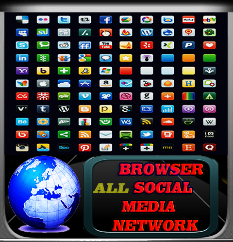 【免費社交App】Social Media Network Browser-APP點子