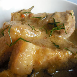 Pork in Penang Curry Sauce