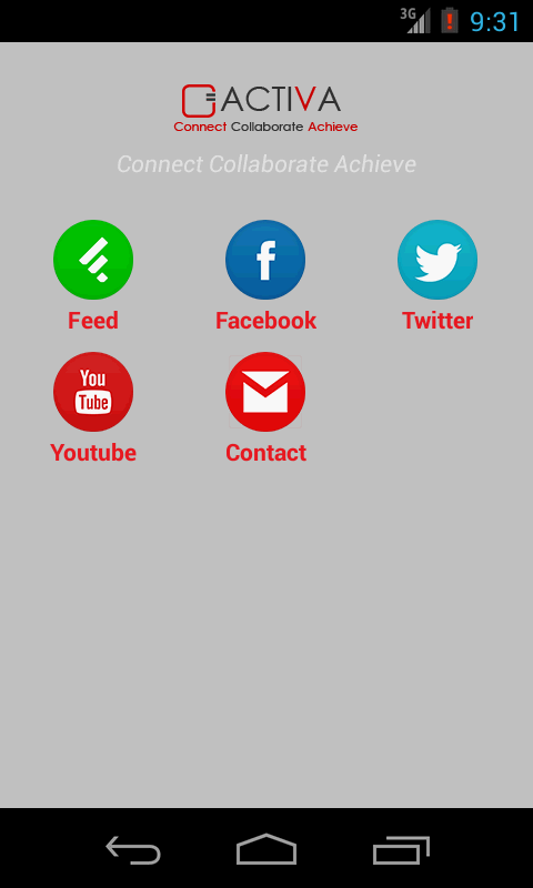 ACTIVA TECHNOLOGY APP- screenshot