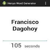 Henyo Word Generator