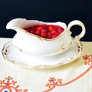 Cranberry Marmalade Sauce