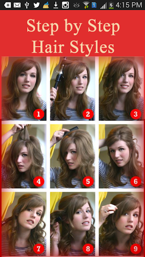Step by Step Hair Styles