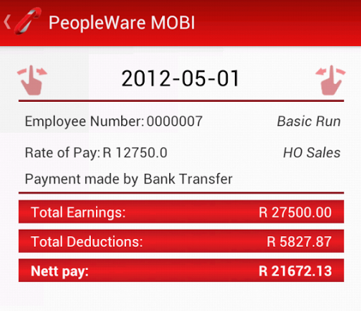 PeopleWare MOBI  screenshots 4