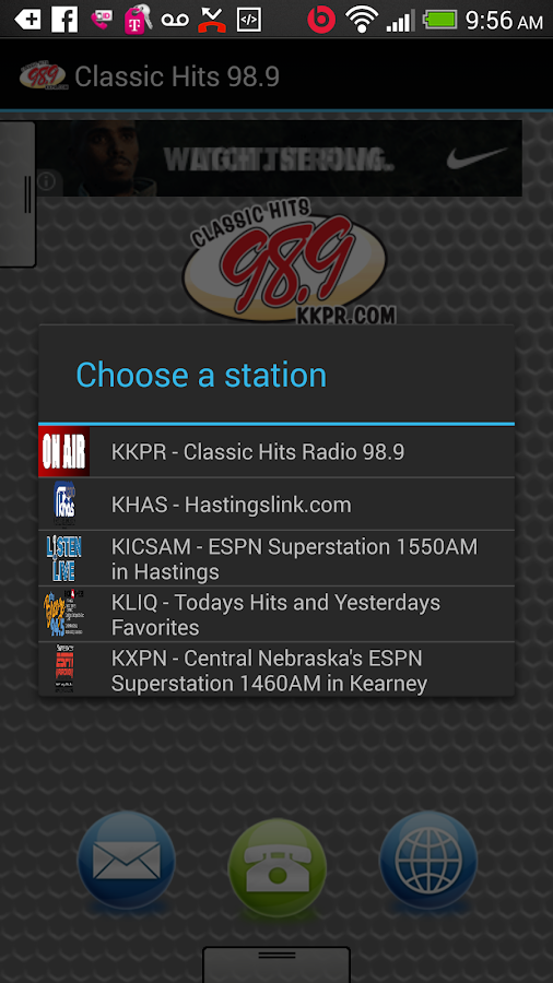Classic Hits 98.9 - screenshot