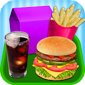 Kids Burger Meal - Fast Food!