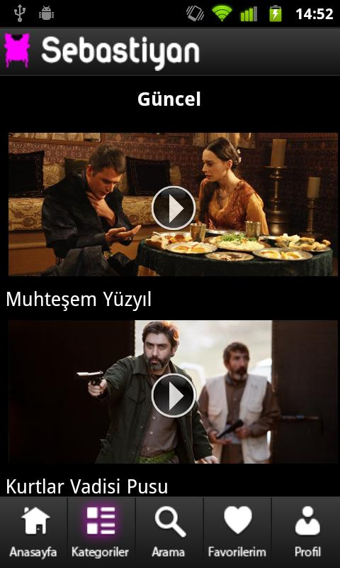 Sebastiyan Dizi & Film HD izle - screenshot