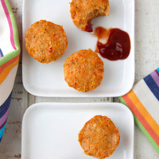 Cheesy Turkey Meatloaf Bites
