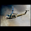 Great helicopters : UH 1H logo