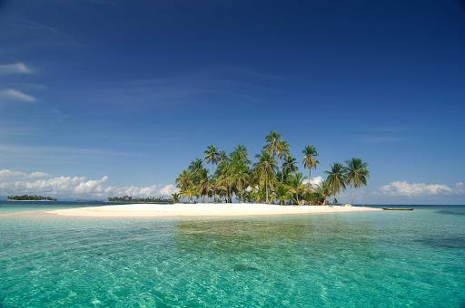 The San Blas Islands of Panama number 378 Islands in the Caribbean Sea.