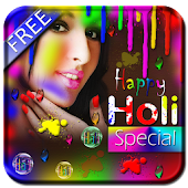 Holi Special Photo Animated