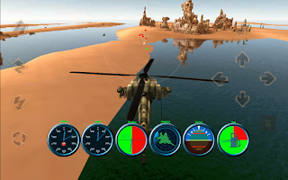 Screenshot of Heli Combat