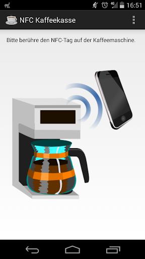 NFC Kaffeekasse