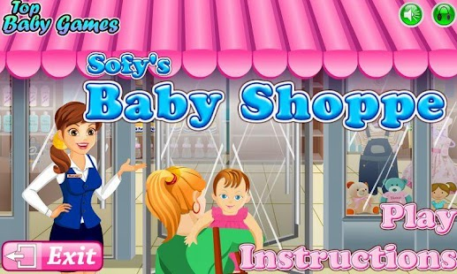 Sofys Baby Shoppe - OLD - screenshot thumbnail