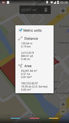 Maps Measure 1.4.2 screenshots 4