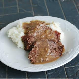 Easy Crock Pot Roast Beef.