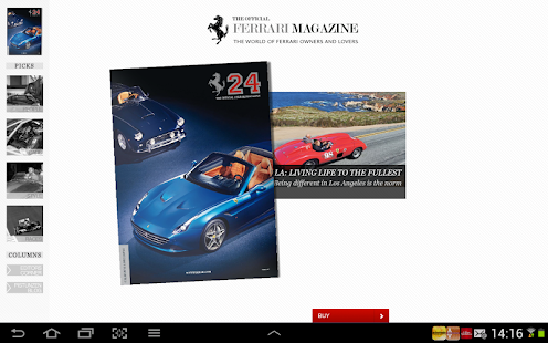The official Ferrari Magazine - screenshot thumbnail