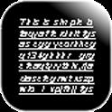 極簡黑記帳本 icon