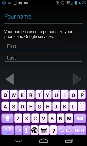 Lavender keyboard image 2.0 Windows u7528 2