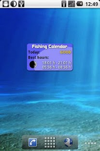 Fishing Calendar- screenshot thumbnail