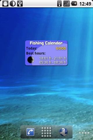 Fishing Calendar- screenshot